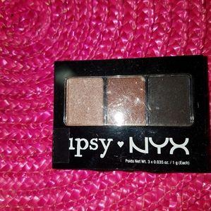 Ipsy NYX eyeshadow trio
